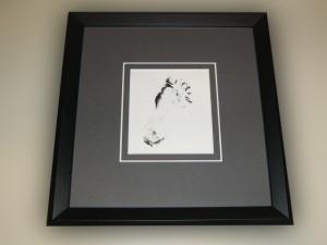 Baby footprint