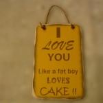 fat boy cake