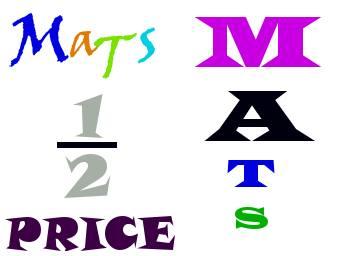 half price mats